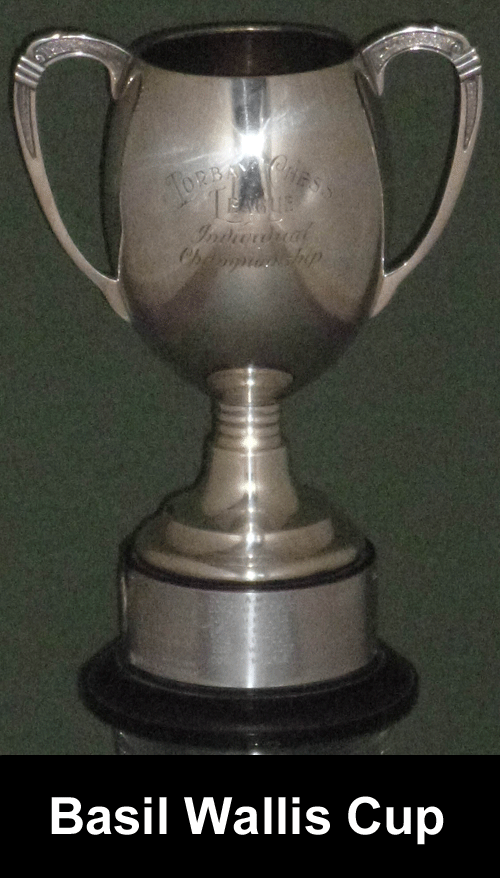 Torbay Congress Individual Championship Trophy
